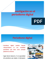 11 - La Investigación en El Periodismo Digital