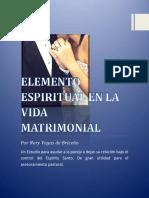 Estudio Del Elemento Espiritual en La Vida Matrimonial