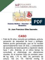 DIABETES MELLITUS ,Obesidad  Y SINDROME METABOLICO