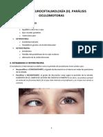 Tema 47 Parálisis Oculomotoras