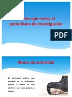 6 - Delitos Que Revisa El Periodismo de Investigación