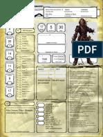 Ficha - Warlock Elfo