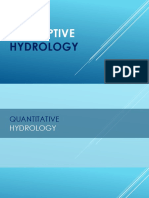 Descriptive Hydrology