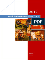 British Bankers c2 Csi Libor War With f Ing Americans Chapter 17