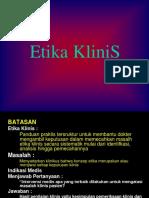 11 - Etika Klinik