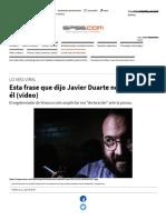 La Frase Que 'Declamó' Javier Duarte No Es de Él (Video) _ Noticias de México y El Mundo