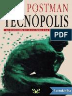Tecnopolis - Neil Postman