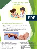 Imunisasi Tetanus Toxoid(Tt) Pada Ibu