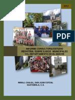 Estudio Registral Ejidos Municipales de El Quiche