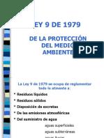 Diapositivas Ley 9 de 1979