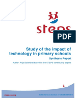 Synthesis Report Steps En