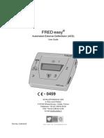 Desfibrilador Automatico Externo Schiller Fred Easy