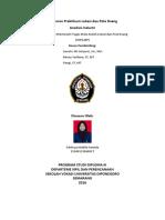 Laporan Praktikum Analisis Lokasi Industrii