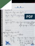 Resolução Da Atividade Sobre Logaritmos