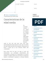 Características de la Edad Media.pdf