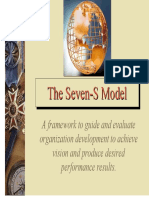 Framework Example--7S CaseStudy for Organizational Development
