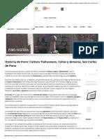 Historia de Puno, Cultura Tiahuanaco, Collas, Quechuas y Aimaras, Meseta Del Collao Perú, Manco Cápac y Mama Ocllo, San Carlos de Puno
