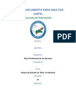 Etica Profesional tarea I