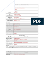 Formato Curriculum Psp