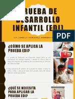 Prueba de Desarrollo Infantil (EDI)