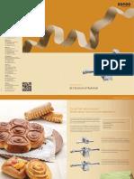 RONDO Mechanische Ausrollmaschine Mechanical Dough Sheeter FR