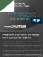 Protección Diferencial de Voltaje Con Acopladores Lineales