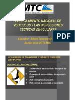 Expo Reglamento Nacional Vehiculos & ITV