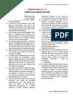 LABORATORIO N° 11 FONDOS DE AMORTIZACIÓN