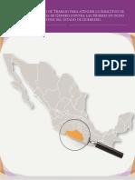 Informe AVGM Guerrero