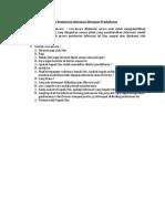 Proses Pemberian Informasi Ditempat Pendaftaran