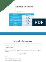 Diapositivas Costos Planta de Acido Citrico
