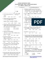 Matematika Dasar Un Dan Sbmptn 2017