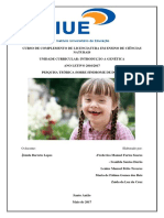 Pesquisa Teorica Sindrome de Down