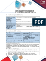 Guia de Actividades y Rubrica de Evaluacion - Activity 1- Recognition Activity Pre-knowledge Quiz