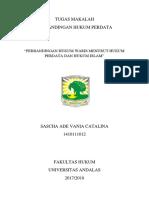 Perbandingan Hukum Waris Dan Hukum Waris Islam