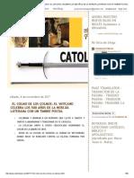 Catolicidad_ El Colmo de Los Colmos_ El Vaticano Celebra Los 500 Años de La Herejía Luterana Con Un Timbre Postal