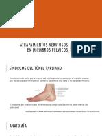 Sindrome de Tunel Del Tarso