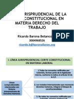 2. Linea Jurisprudencial Corte Constitucional PDF