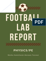 football lab report