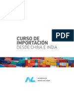 Programa Curso Importacion China India