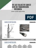 Análisis de Las Fallas de Cables Metálicos