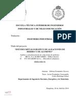 Aleaciones de Hierro y Aluminion Pamplona