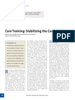 Faries NSCA Core Stabilization