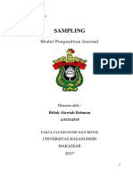 Modul 9 SAMPLING - Audit Internal