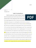 godzilla essay portfolio