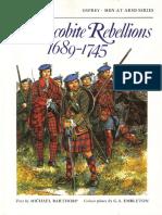 Barthorp, Michael - The Jacobite Rebellions, 1689-1745 (1982)