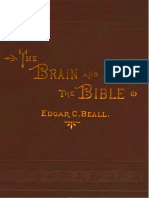 Beall, Edgar - The Brain and the Bible; Or, The Conflict Between Mental Science and Theology (1881)