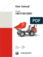 1001 Operators Manual   DUMPER