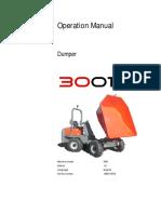 3001 Operators Manaul DUMPER