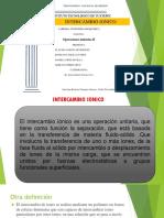 INTERCAMBIO-IONICO